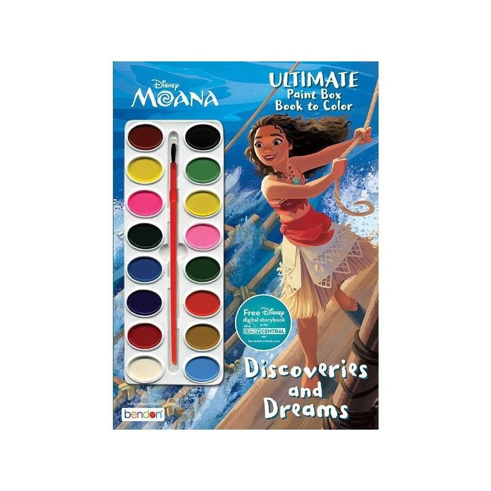 Disney Moana Paintbox Book