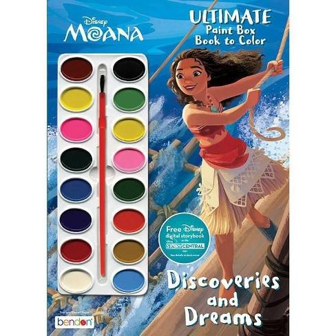 Disney Moana Paintbox Book - image 1 of 3