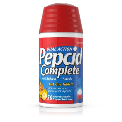 Pepcid Complete Tablets Tropical - 50ct - image 1 of 7