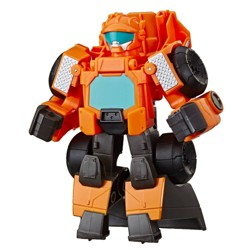 Playskool Heroes Transformers Rescue Bots Academy Wedge the Construction-Bot Converting Toy Robot