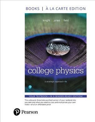 College Physics : A Strategic Approach, Books a La Carte Edition -  (Paperback)