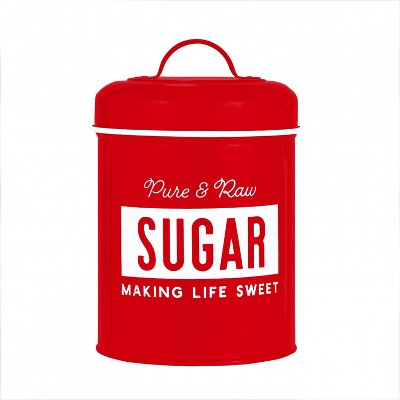 Amici Home Life is Sweet Metal Sugar Canister, 64oz