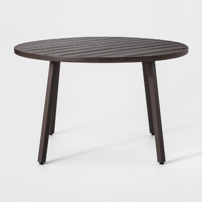 Wondrous Monroe 4 Person Patio Dining Table Brown Threshold Gmtry Best Dining Table And Chair Ideas Images Gmtryco
