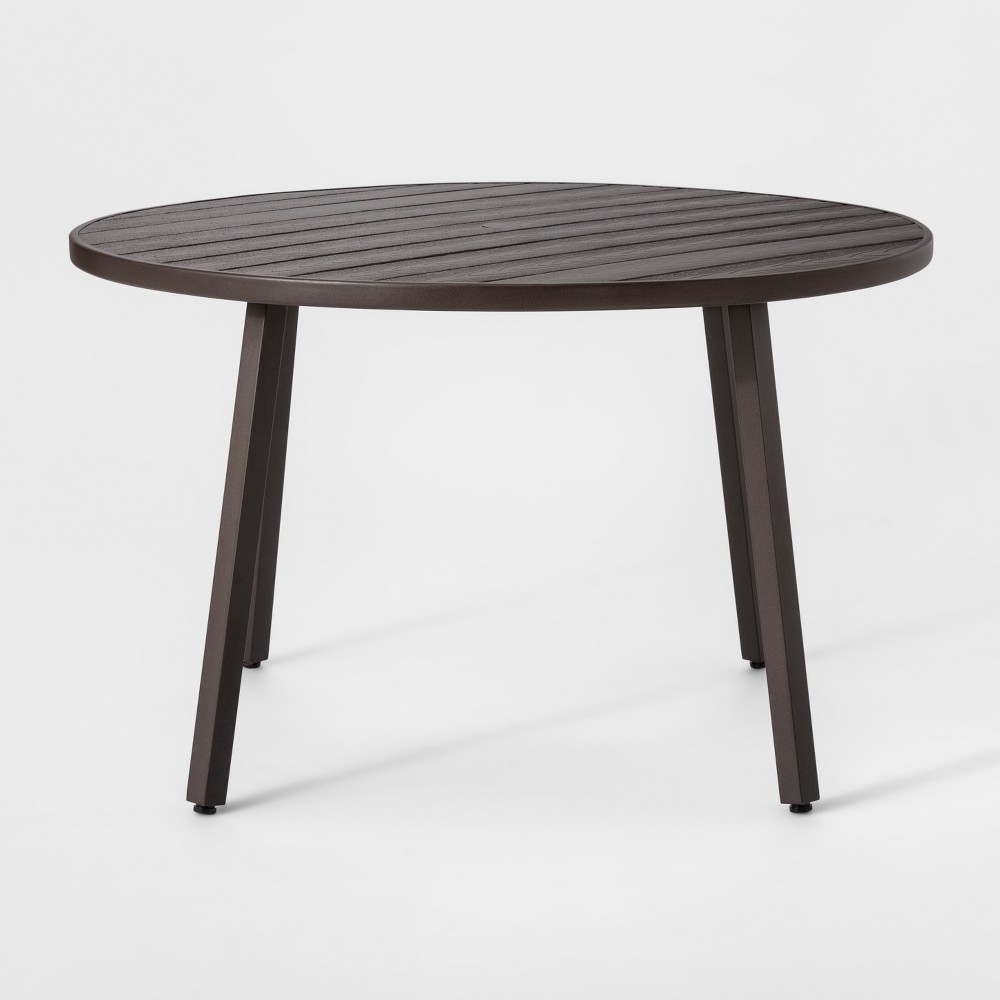 Monroe 4 Person Patio Dining Table Brown - Threshold
