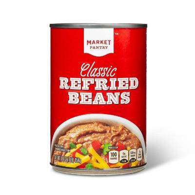 Classic Refried Beans 16oz - Market Pantry™