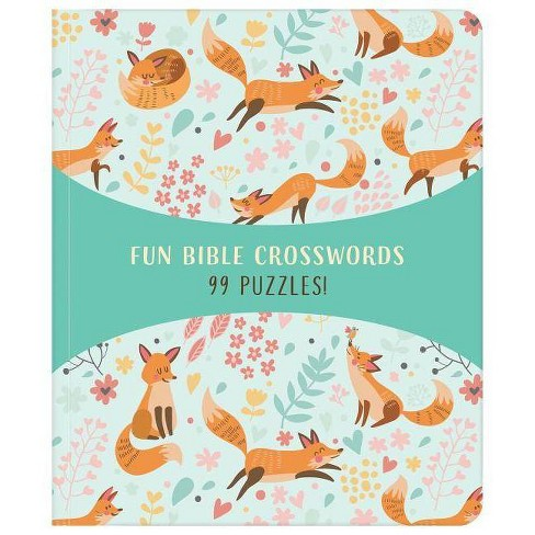Fun Bible Crosswords - by  Compiled by Barbour Staff (Paperback) - image 1 of 1