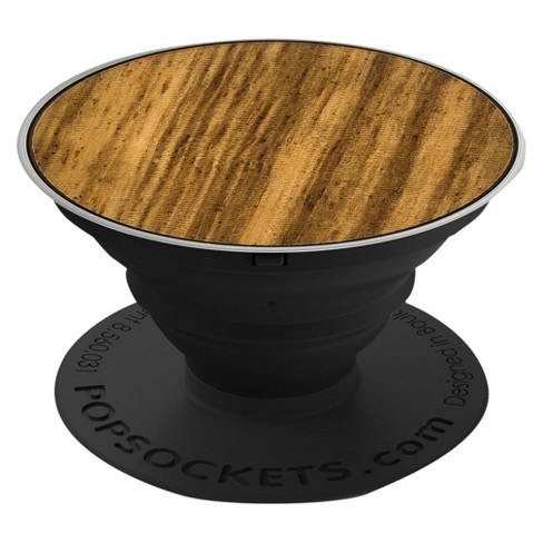 PopSockets Wood Cell Phone Grip & Stand - image 1 of 6