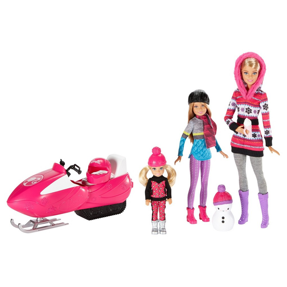 Barbie Sisters Snow Fun Doll Giftset
