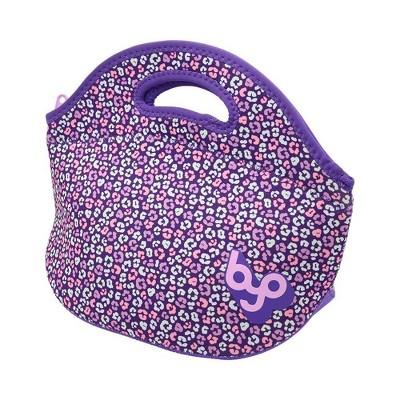 BYO Rambler Lunch Tote - Purple/Leopard
