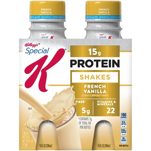 Special K Protein Shake - French Vanilla - 4ct - image 1 of 5
