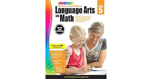 Spectrum Language Arts and Math, Grade 5 : Common Core Edition (Paperback) - image 1 of 1