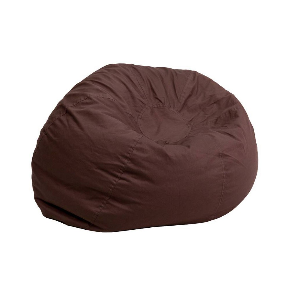 Riverstone Furniture Collection Bean Bag Chair Brown