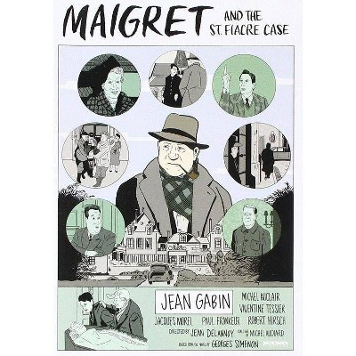 Maigret and the St. Fiacre Case (DVD)(2017)