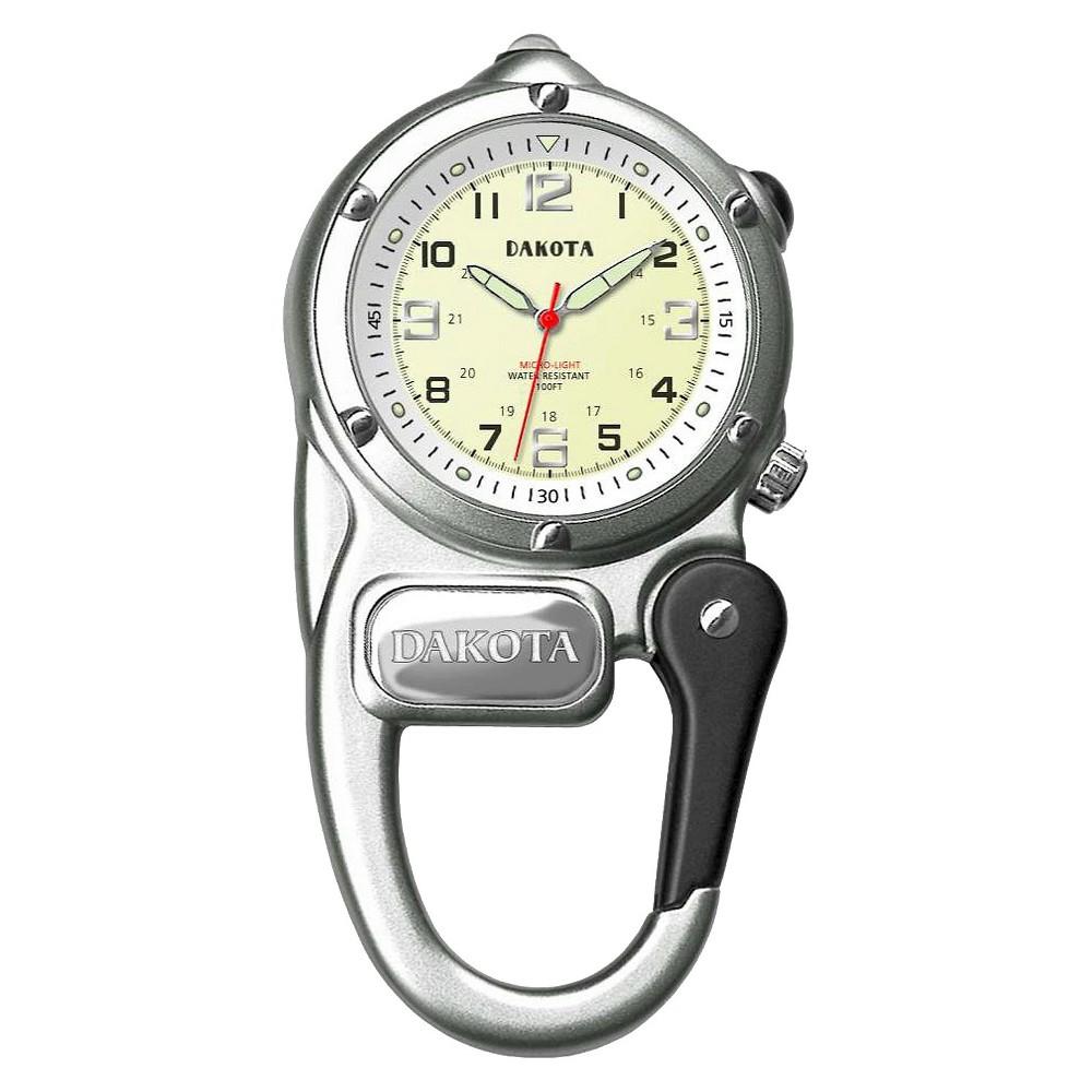 Image of Women's Dakota Mini Clip Microlight Watch - Silver, Size: Small