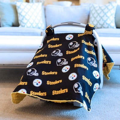 Pittsburgh Steelers Carseat Canopy
