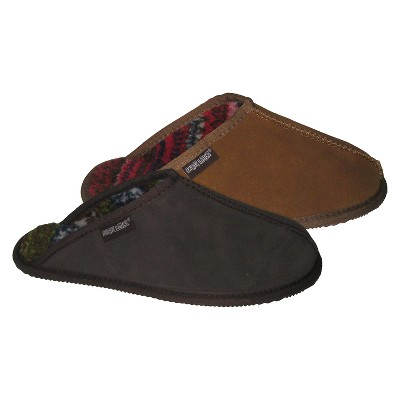 18380f5758b Men s MUK LUKS® Printed Berber Suede Scuff Slippers