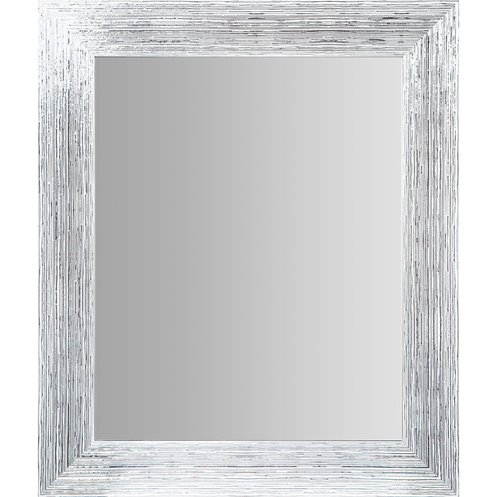 """Image of """"16""""""""x20"""""""" Textured Wall or Leaner Mirror Gray- Gallery Solutions"""""""