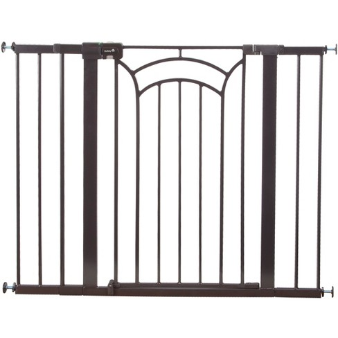 """Safety 1st Easy Install Tall & Wide Walk Thru Baby Gate 29""""-47"""", Dcor - image 1 of 4"""