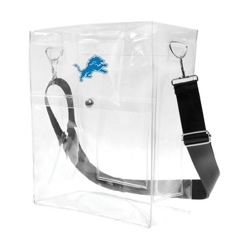 NFL Detroit Lions Clear Ticket Satchel - image 1 of 1