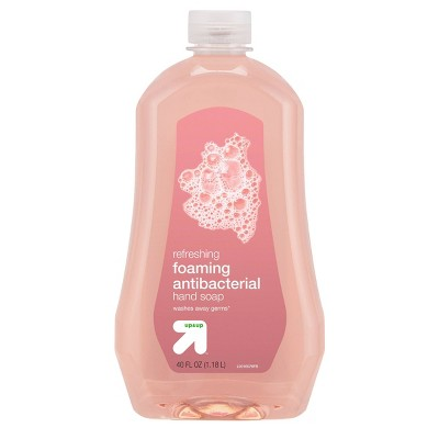 Light Fresh Scent Antibacterial Foaming Hand Wash - 40oz - up & up™