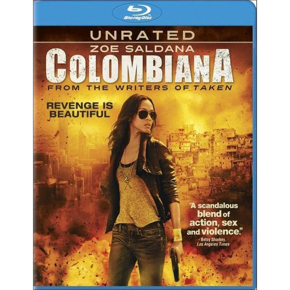 Colombiana (Unrated) (Blu-ray) (Includes Digital Copy) (UltraViolet)