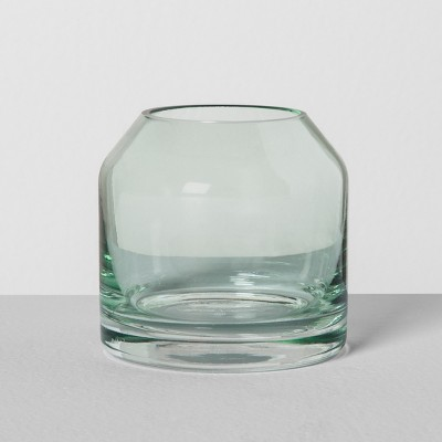 Mini Glass Jug Vase - Green - Hearth & Hand™ with Magnolia