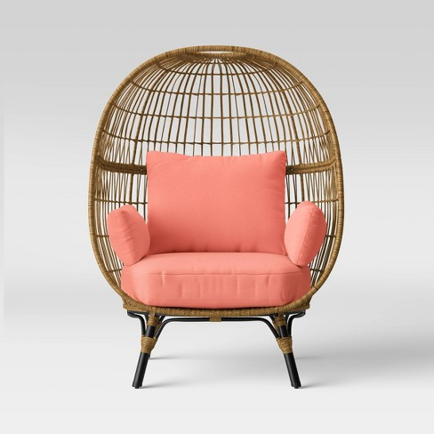 Southport Patio Egg Chair Coral Opalhouse Target