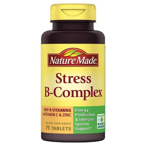 Nature Made Stress B Complex With Vitamin C Zinc Target