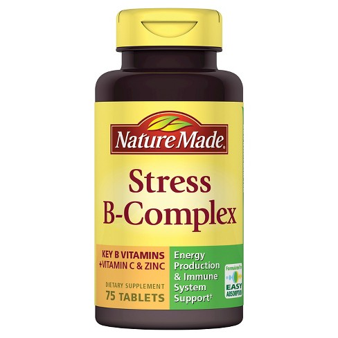 What Is Nature Made Stress B Complex