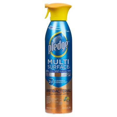 Multi-Surface Cleaner: Pledge Antibacterial Multisurface