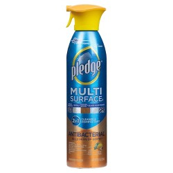 Pledge Multi Surface Antibacterial Everyday Cleaner 9.7oz