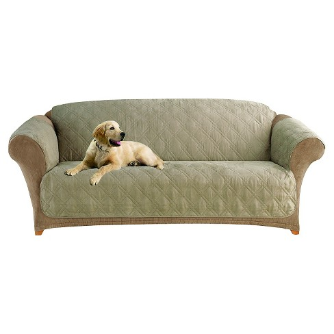 Furniture Friend Microfiber Nonskid Sofa Pet Cover Sure
