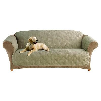 Furniture Friend Microfiber Nonskid Sofa Pet Cover   Sure Fit