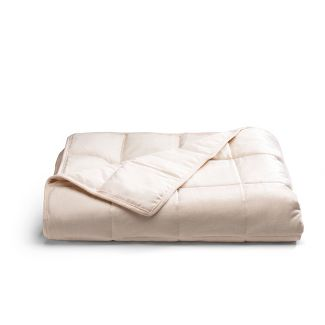 12lb Ivory Weighted Throw Blanket - Tranquility