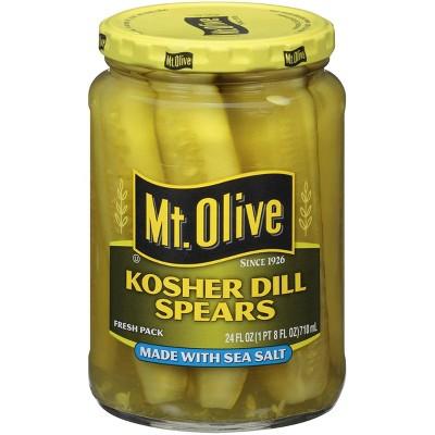 Mt. Olive Kosher Dill Spears - 24oz