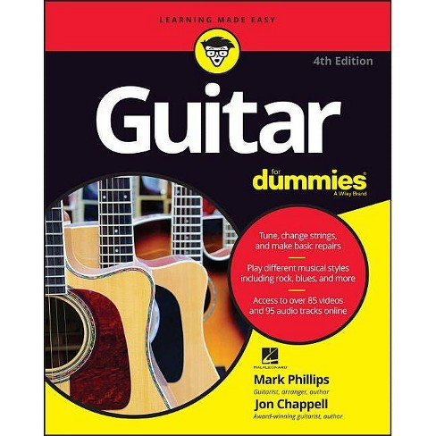 Guitar for Dummies - (For Dummies (Lifestyle)) 4th Edition by  Mark Phillips & Jon Chappell (Paperback) - image 1 of 1
