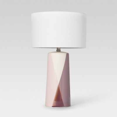 Cohasset Dipped Ceramic Table Lamp Blush Includes Energy Efficient Light Bulb - Project 62™