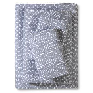Jersey Sheet Set Prints (Queen) Gray - Room Essentials™