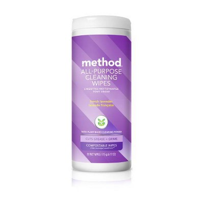 Multi-Surface Wipes: Method All-Purpose Compostable Wipes