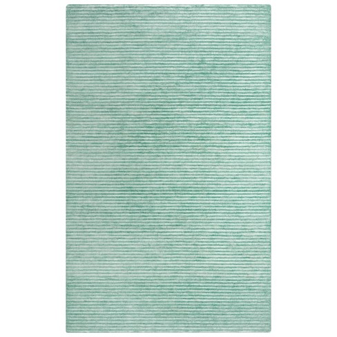 Vista Solid Recycled Poly Area Rug - Rizzy Home - image 1 of 4