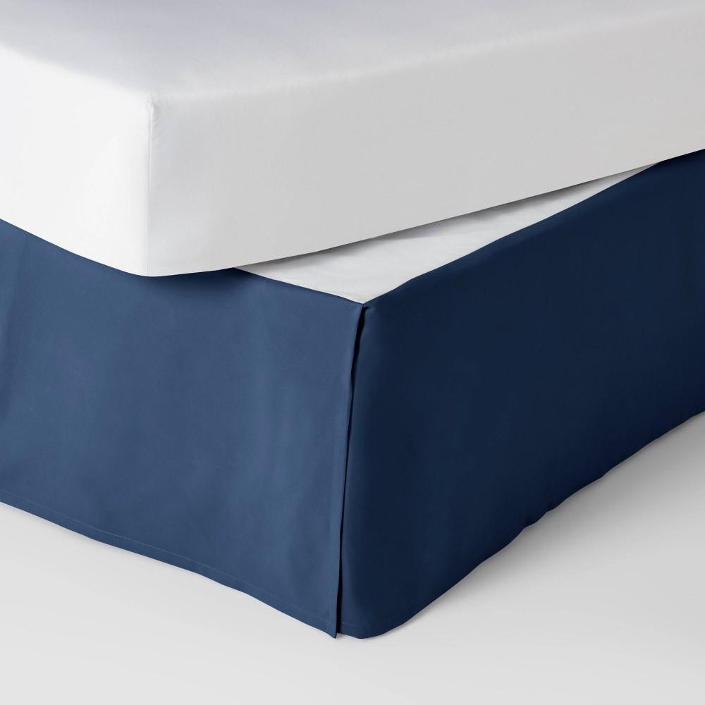 Twin Simple Pleat Bedskirt Navy Pillowfort 8482