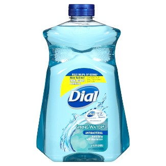 Dial Spring Water Refill Liquid Hand Soap Gel- 52oz