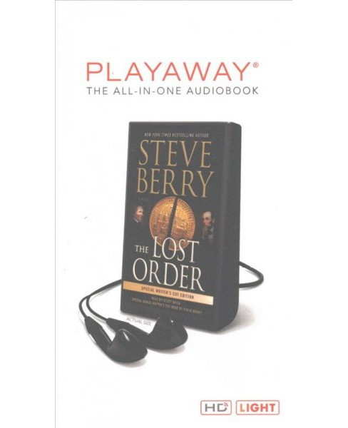 Lost Order (Unabridged) (Pre-Loaded Audio Player) (Steve Berry) - image 1 of 1