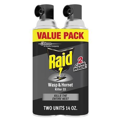 Raid 14oz 2ct Wasp & Hornet KillerTwin Pack