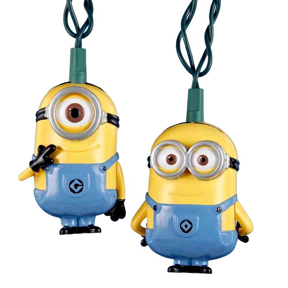 Image of Despicable Me Minions 10ct Christmas String Lights