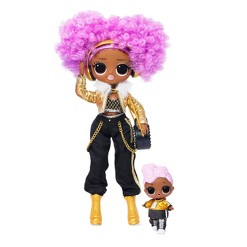 L.O.L. Surprise! O.M.G. Winter Disco 24K D.J. Fashion Doll & Sister