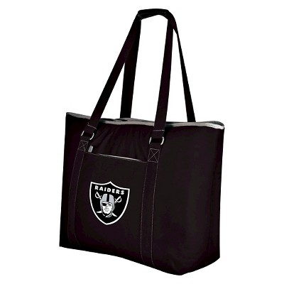 Oakland Raiders - Tahoe Cooler Tote by Picnic Time (Black)