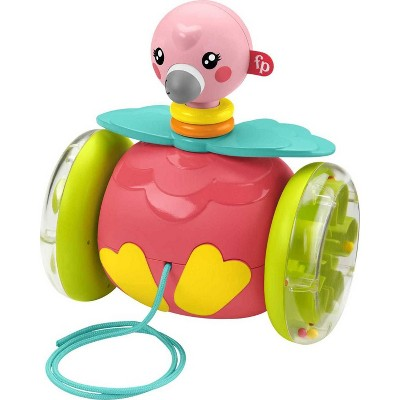 Fisher-Price Paradise Pals Pull-Along Flamingo
