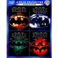 Target.com deals on Batman Collection: 4 Film Favorites Blu-ray