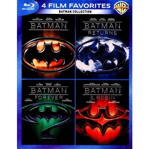 Batman Collection: 4 Film Favorites [4 Discs] [Blu-ray]